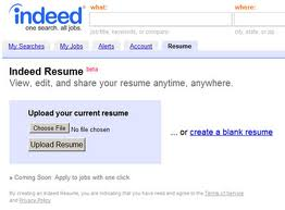 1 indeed resume