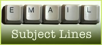 subject lines for job search emails